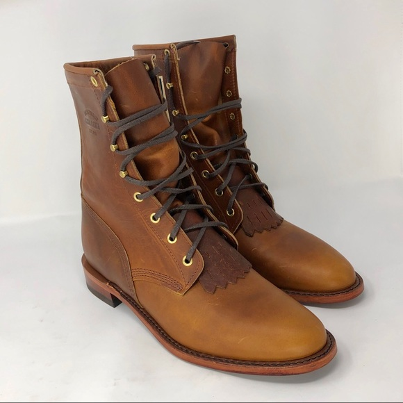 300d791f833 Chippewa original Lacer Boot Tan Women-11 NWT